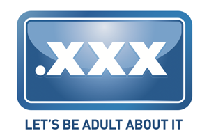 logo for the .XXX domain extension