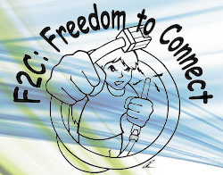 F2C: Freedom to Connect logo
