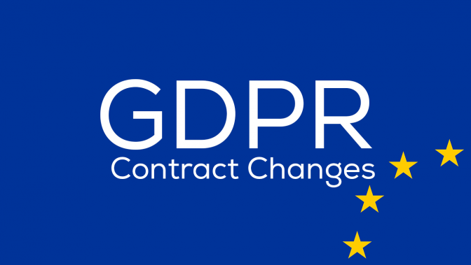 GDPR Contract Changes
